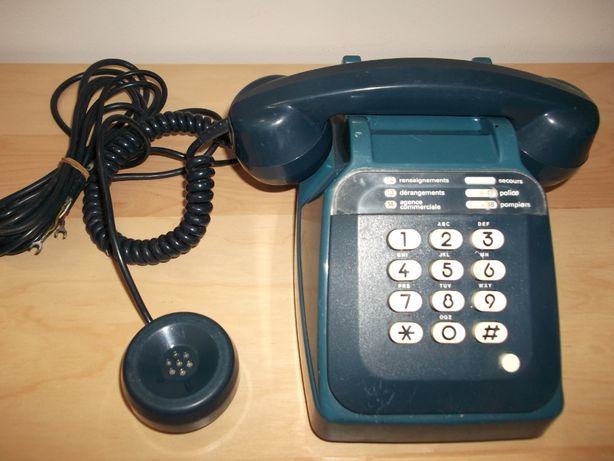 Telefone vintage com escuta dupla