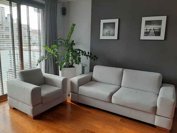 PILNE Ekskluzywna Sofa i fotel Lugano firmy Caya Design