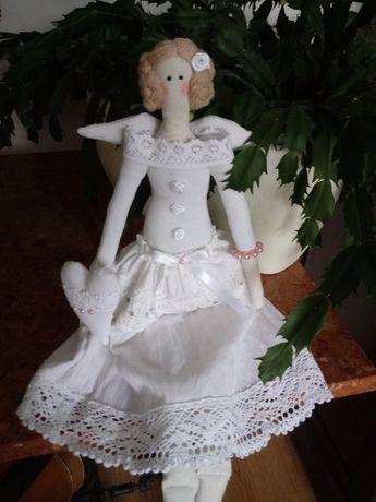 Lalka Tilda Biały Anioł