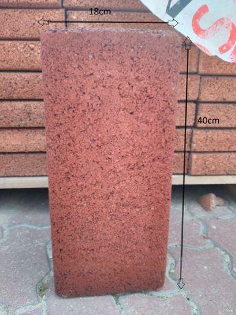 palisada betonowa rubinowa