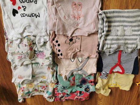 Paka ubranek dla dziewczynki rozmiar 56-68