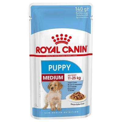 ROYAL CANIN medium junior/puppy 15 kilos + 5 oferta -  Ração para Cão
