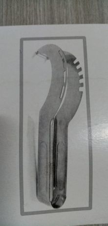 Нержавеющий нож для арбуза.