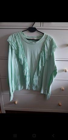 Bluza z falbanka uniwersalna