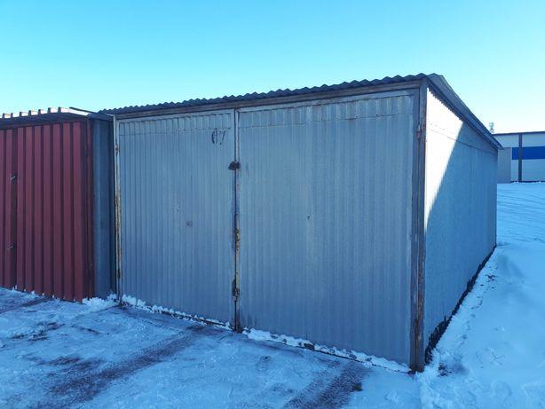 Garaż blaszany 3.3x6.0m, 3.0x6.0m podwyższony, 3.ox5.0m Sprzedam!!!