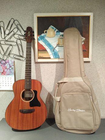 Gitara elektroakustyczna Harley Benton GS-Travel-E Mahogany + gig bag