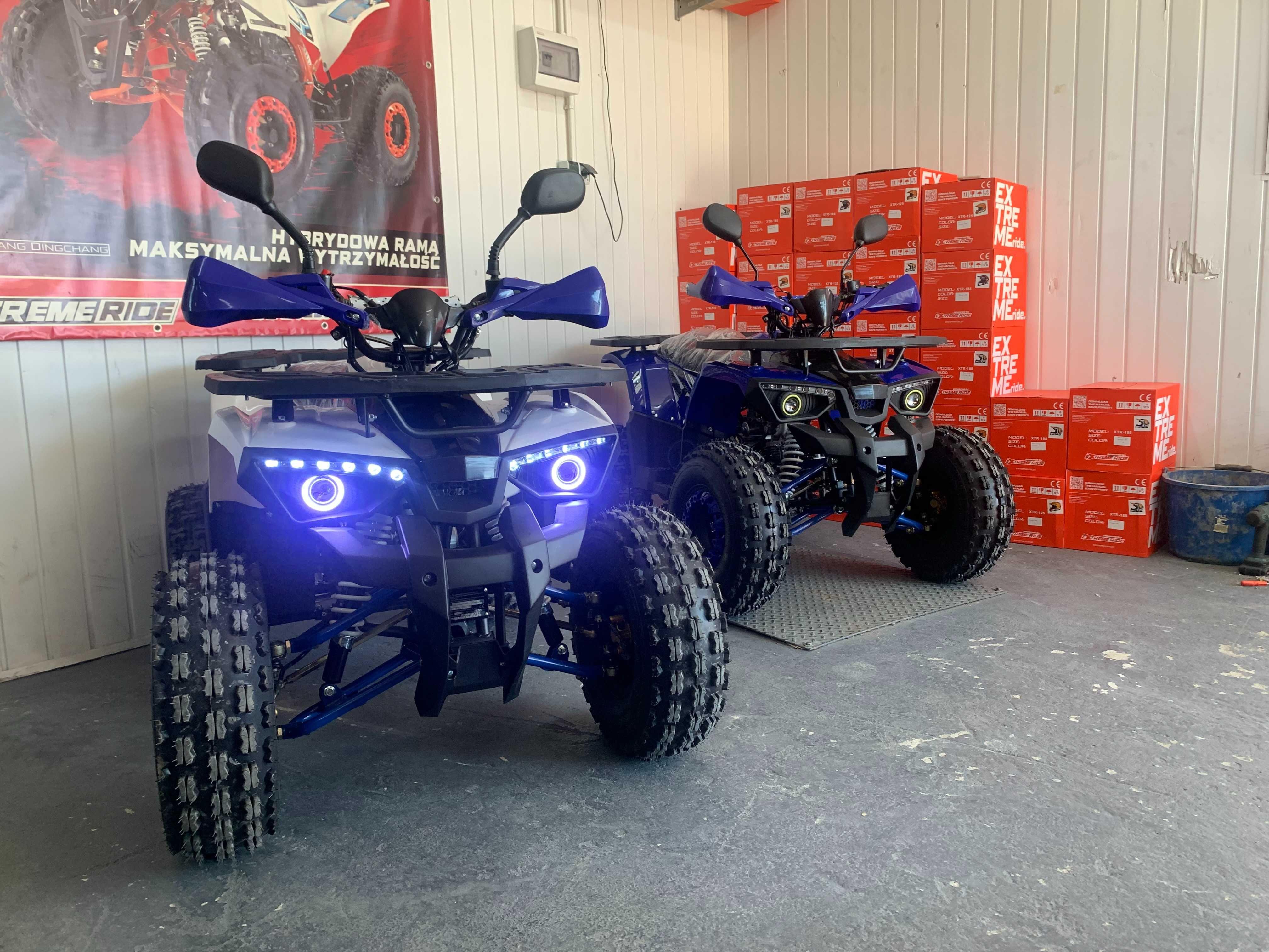Quad Quady NOWOŚĆ HunterXTR PRO ledy wzmocniona Rama 2021