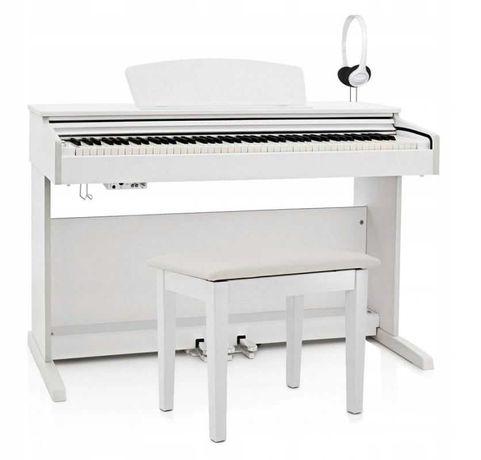 Pianino cyfrowe Dynatone SLP-175 WH - idealny prezent na Komunię!