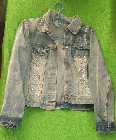 Джинсова куртка піджак