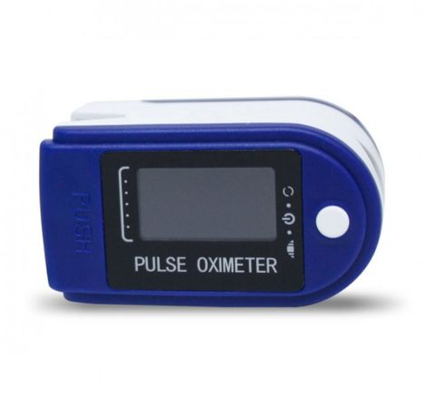 Пульсоксиметр Fingertip pulse oximeter LK87. Цвет: синий