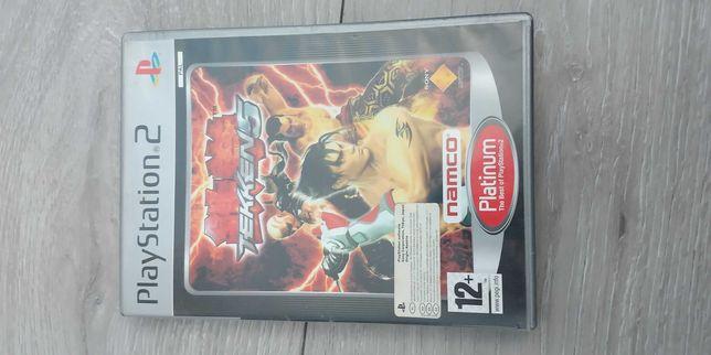 Gra na PS2 Tekken 5