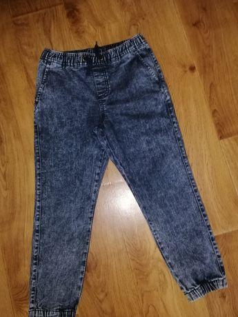 Джинсовые штаны на резинке 8 лет