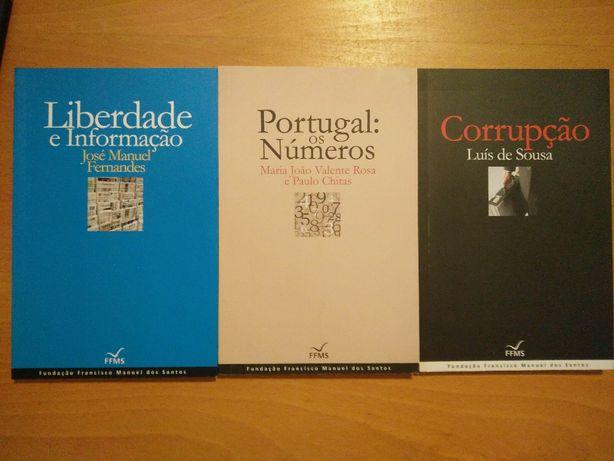 Liberdade e Informação; Portugal e os Números; Corrupção