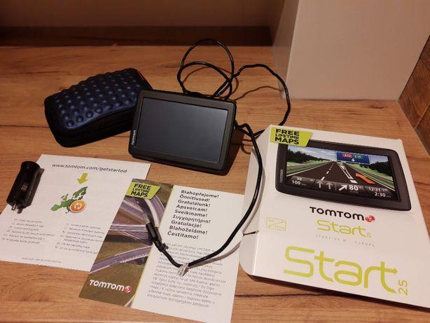 Nawigacja TomTom Start 25 - dożywotnie aktualizacje mapy Europy