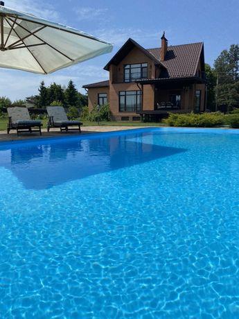Дом 420м2 в лесу с бассейном, 100 метров  до канала, от собственника