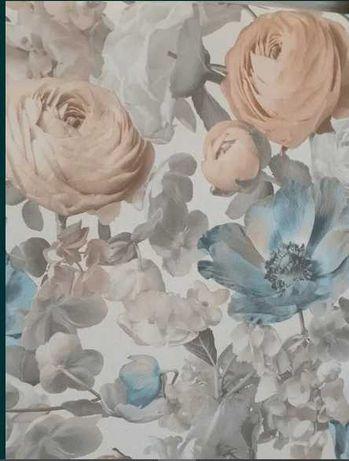 """(Nr. 1005) Tapeta kwiatowa. Na flizelinie. """"Rasch/Sintra"""""""