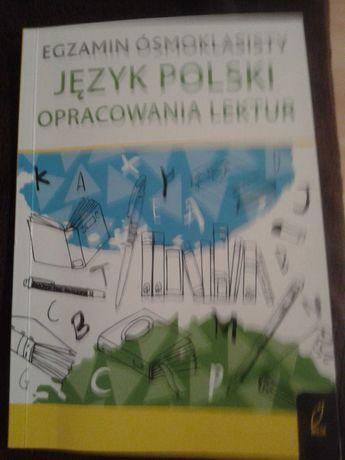 Egzamin ósmoklasisty JEZYK POLSKI opracowanie lektur