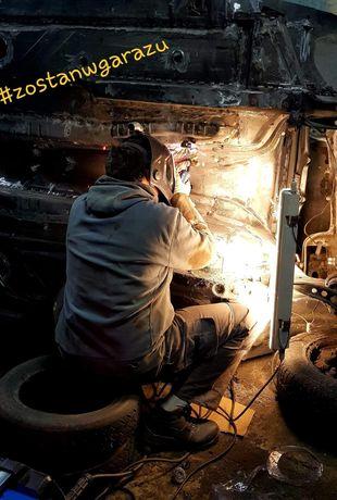 Usługi spawalnicze. Spawanie stali czarnej nierdzewnej oraz aluminium.