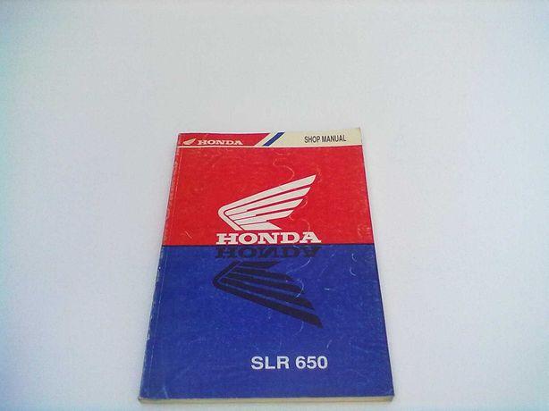 Manual Técnico Oficial Honda SLR 650
