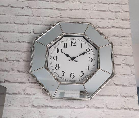 Zegar ścienny elektroniczny 40*40 cm Lusterka