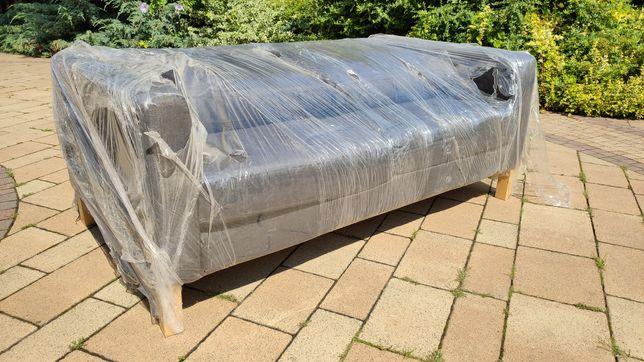 Sofa , kanapa nowa, kolor grafit metalic, nie rozkładana