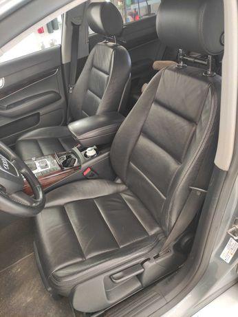 Fotele Kompletne Audi A6 C6 Avant Skóra