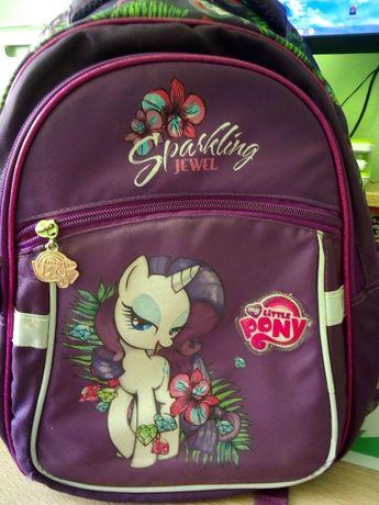 рюкзак школьный для девочки 1-3 класс отличный+ пенал в подарок