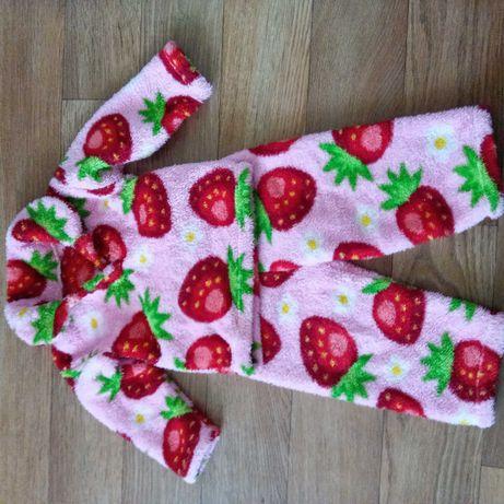 Очень теплый костюм -травка для малышей на 1-1.6 г