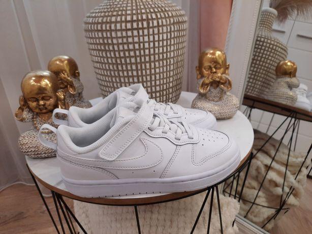 Кожаные кеды Nike