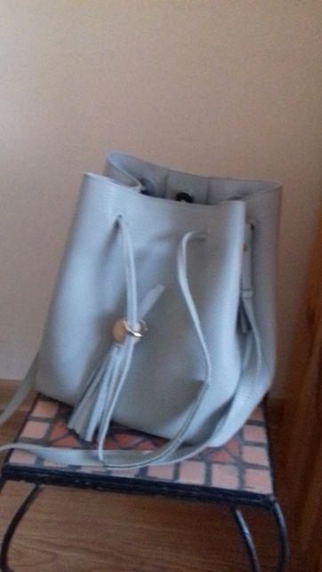 """torebka typu """"worek"""" z wewnętrzną sakwą"""