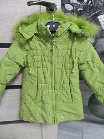 Куртка тёплая 4-5 лет