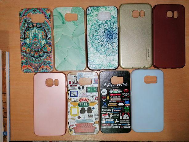 Capas Samsung galaxy S6 novas e semi-novas (mandalas, friends, Lisas)