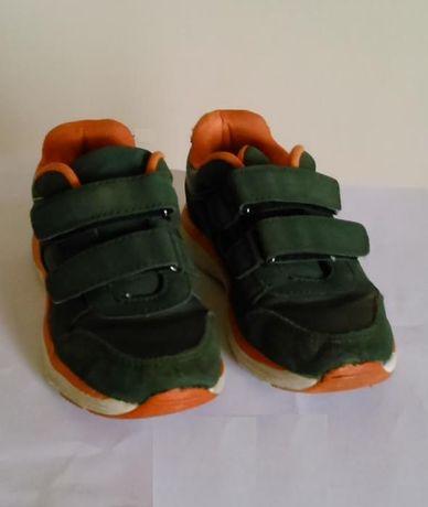 Buty sportowe, rozmiar 27, ciemnozielone