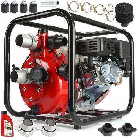 """Pompa motopompa spalinowa 2"""" do wody ciśnieniowa 600l/min 7KM 7BAR"""