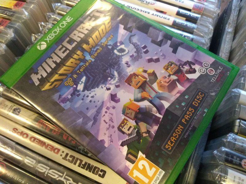 Minecraft story mode Xbox One --- możliwość zamiany SKLEP Ursus