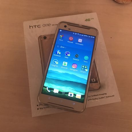 HTC One X9 dual sim (золотой цвет)