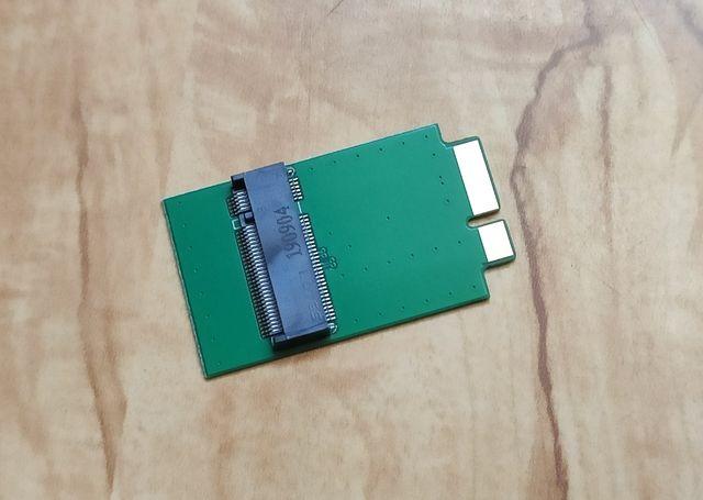 Переходник для SSD диска M.2 NGFF SATA 2280 на MacBook Air 2010 и 2011