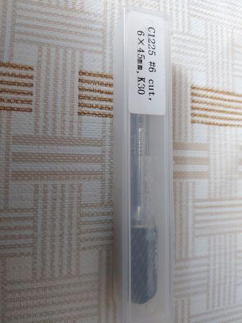 Frez trzpieniowy walcowy 6x45mm