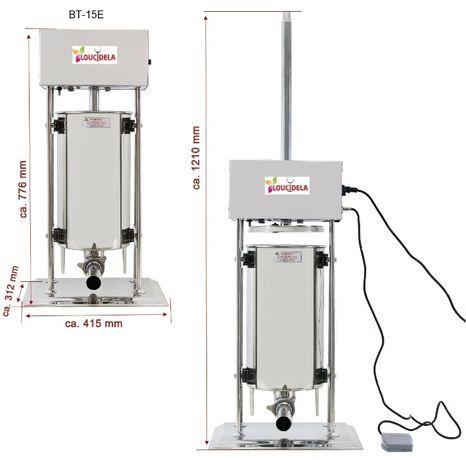 Máquina de Enchidos Electrica 15Litros