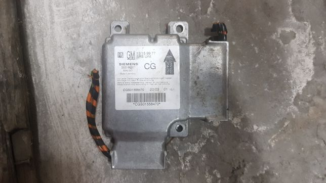 Sensor sterownik komputer airbag CG opel vectra c signum