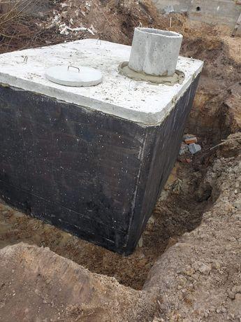 Zbiornik betonowy na odchody szambo gnojowice do domów