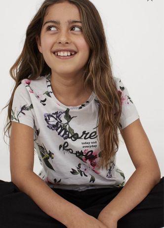 Продам новую футболку НМ на девочку