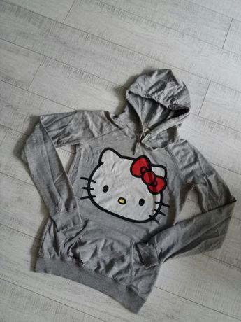 Bluza szara Hello Kitty S Pull & Bear