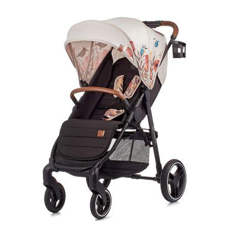 Kinderkraft Grande LX - wózek spacerowy BIRD BĘDZIN