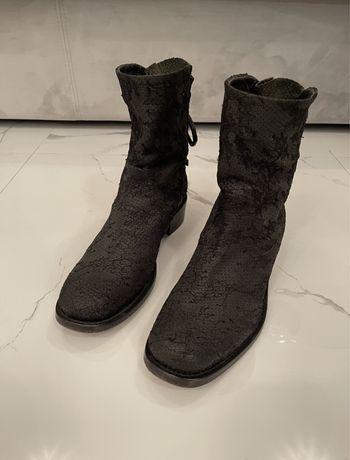 Кожаные ботинки Ermanno Scervino оригинал