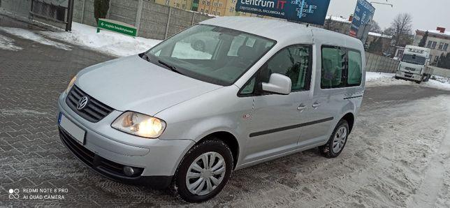 VW Caddy Life 7 osobowy 2.0 lpg