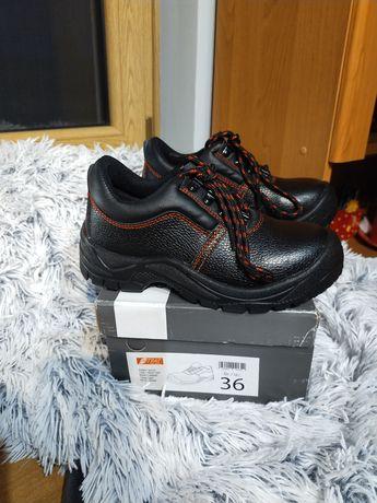 Buty robocze z blacha 36