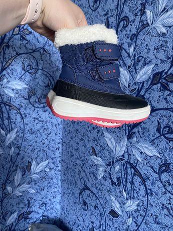 Зимові чобітки 21 розмір