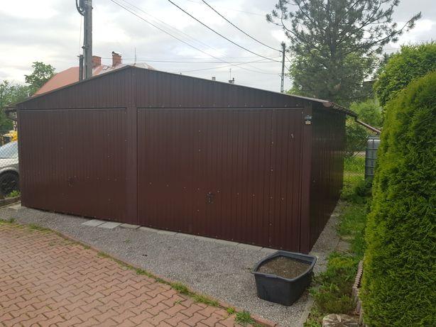 Garaż blaszany 6x5