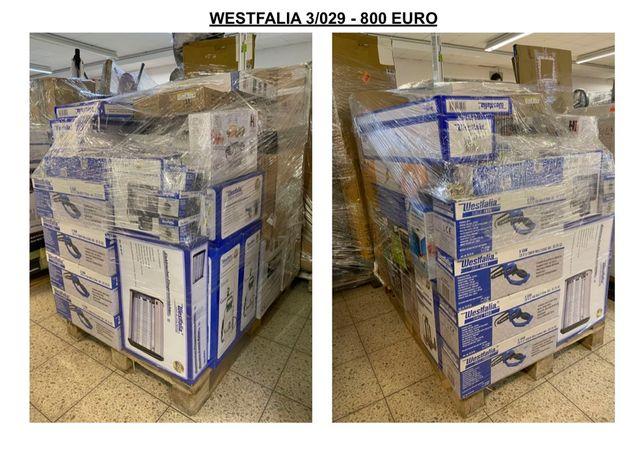 Palety MIX - Narzędzia / Ogrodowa - WESTFALIA - 3 - KLASY TOWARU